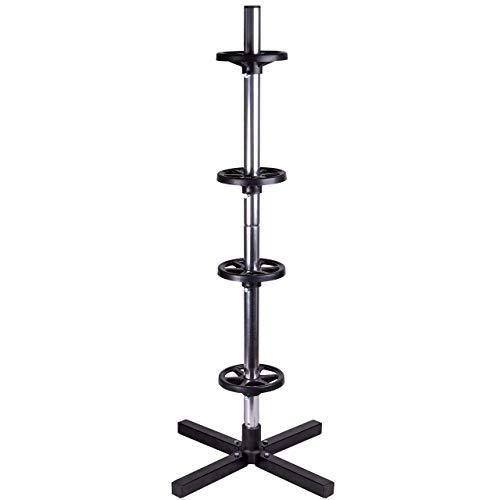 WALTER Felgenbaum, Reifenständer, Felgenhalter, bis max. 100 kg, bis 225 mm Reifenbreite, felgenschonende Aufleger