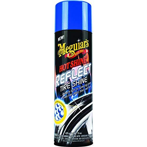 Meguiar's G18715EU Hot Reflect Shine Reifenglanz ist EIN einfach anzuwendendes Tire Dressing, das die Reifen hochlänzend Macht, 425g