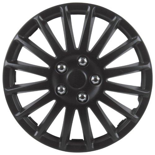 Cartrend 75173 Premium- Radzierblenden 4er- Satz Suzuka, schwarz 33 cm (13 Zoll) - 4-er Set